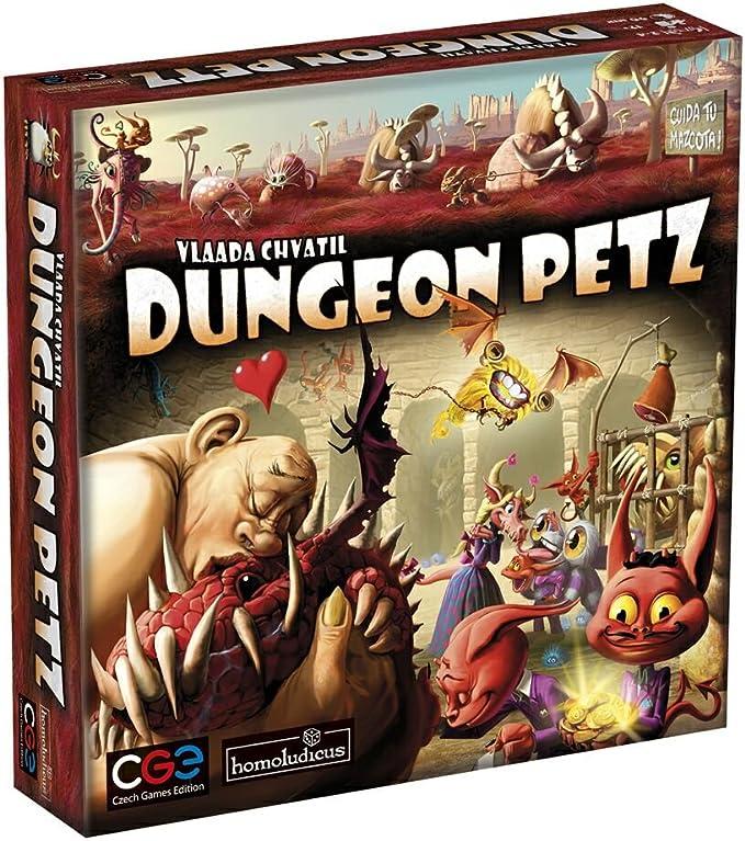 Devir - Dungeon Petz (HLPETZ): Amazon.es: Juguetes y juegos