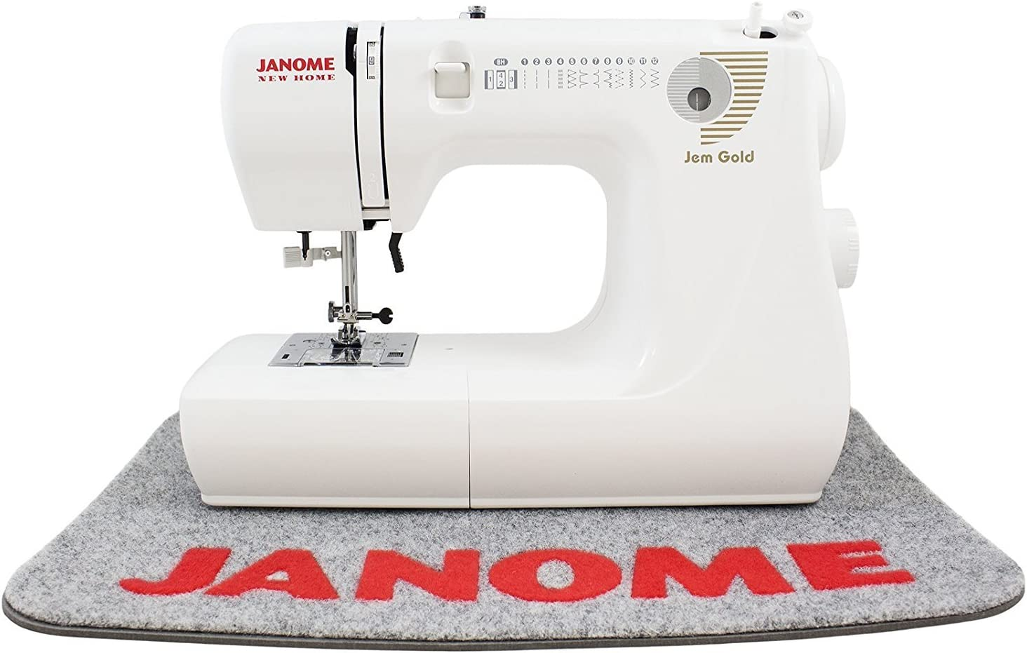 Janome Jem Gold 660 máquina de coser incluye exclusivo paquete de ...