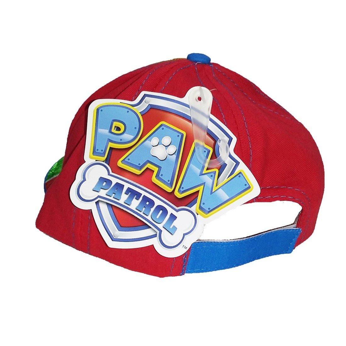 Paw Patrol Premium Cappello con Visiera Bambini Baseball tg 50,52