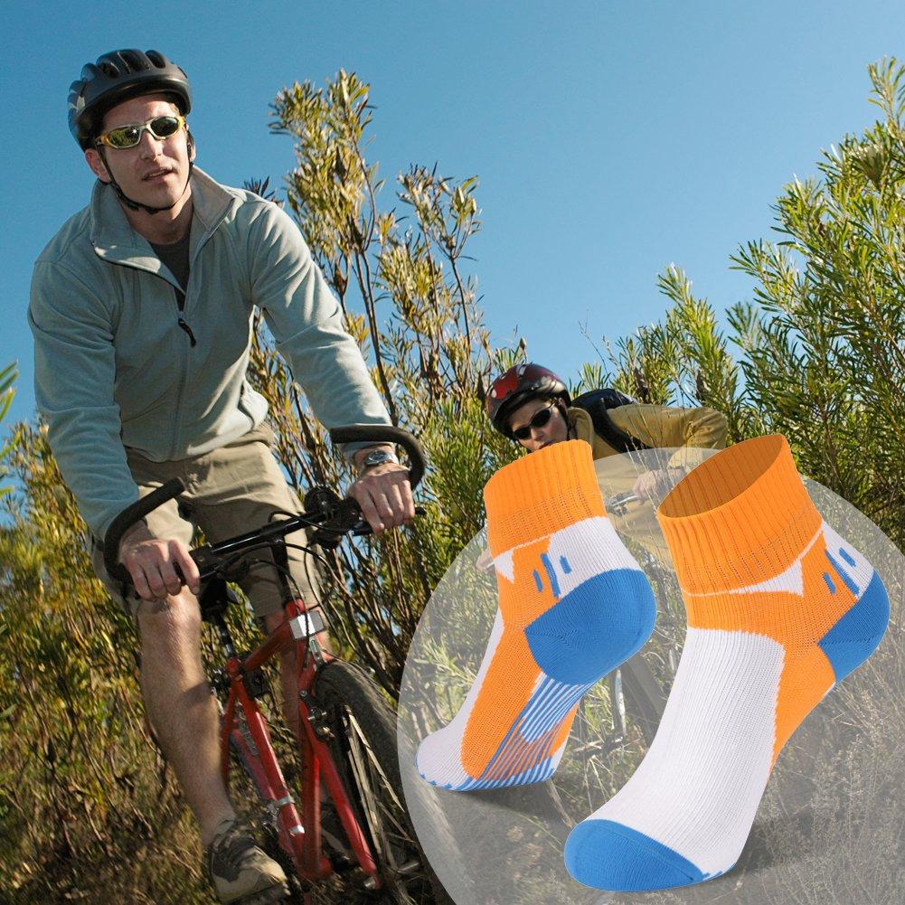RANDY SUN 100/% Waterproof Socks Unisex Cycling//Hunting//Fishing//Running Ankle//Mid Calf Socks