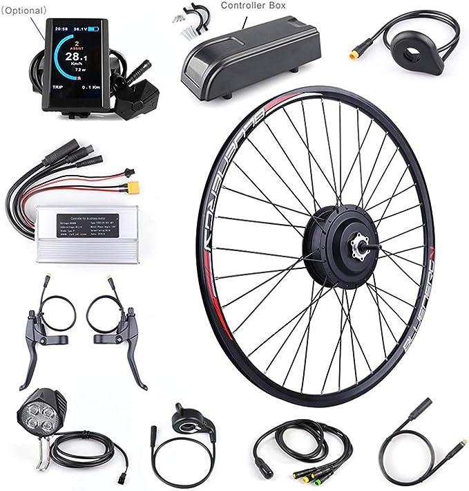 XJYA Kit Bicicleta eléctrica para Bicicleta Kit de conversión de ...