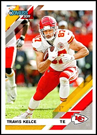 2018 Panini Donruss # 141 Mint Travis Kelce Kansas City Chiefs Football Card