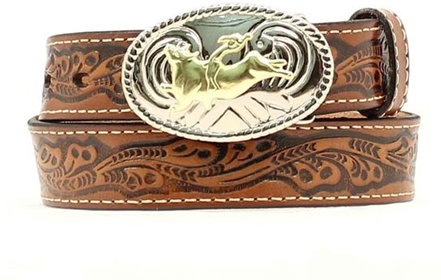 Nocona Boy's Bull Rider Buckle Belt 282832