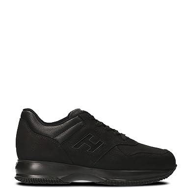 571c5dbae38a12 Hogan Herren HXM00N0Y720H1P0XCR Schwarz Leder Sneakers  Amazon.de ...