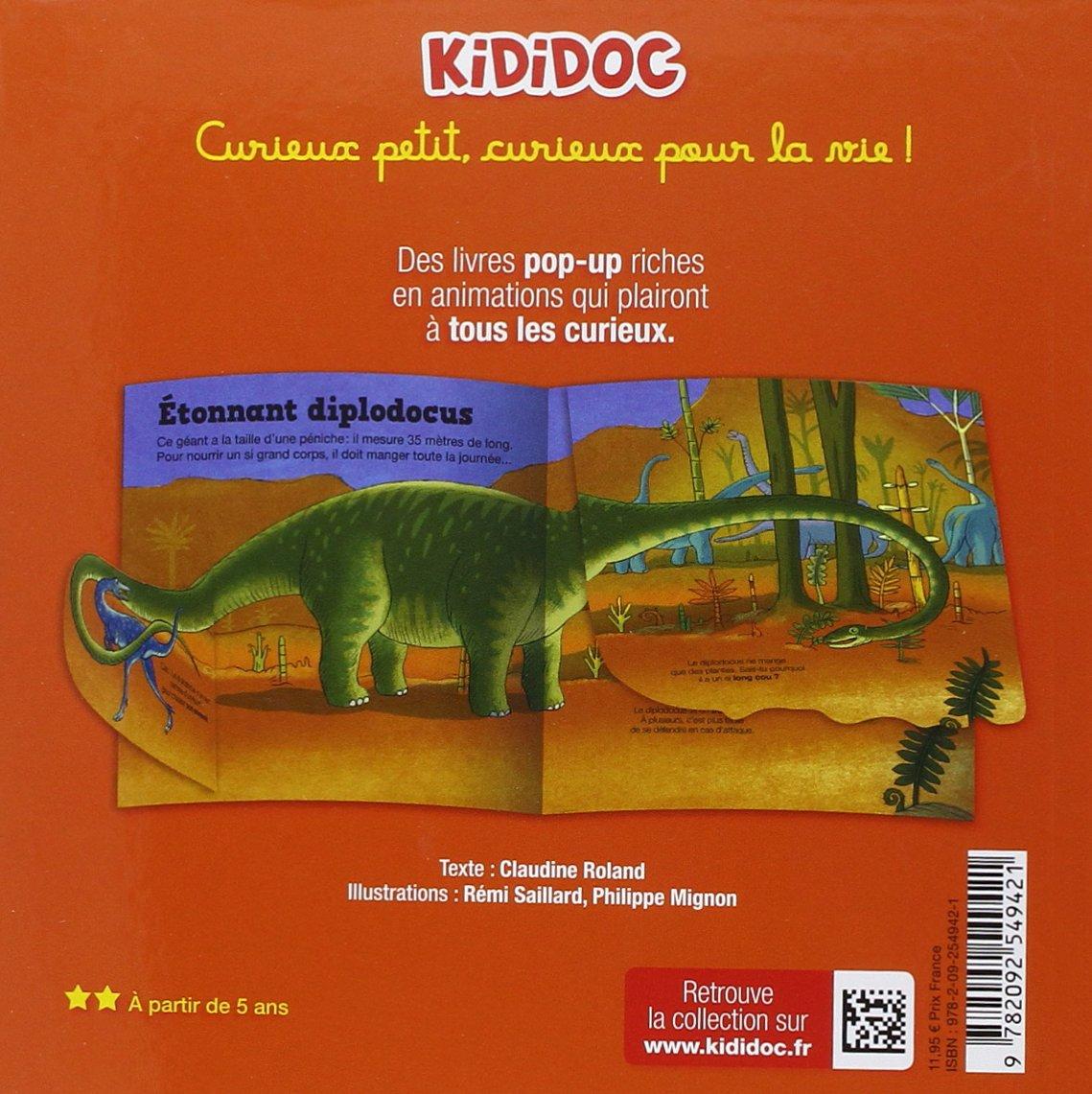 Les Dinosaures Vol10 Kididoc Amazones Claudine Roland