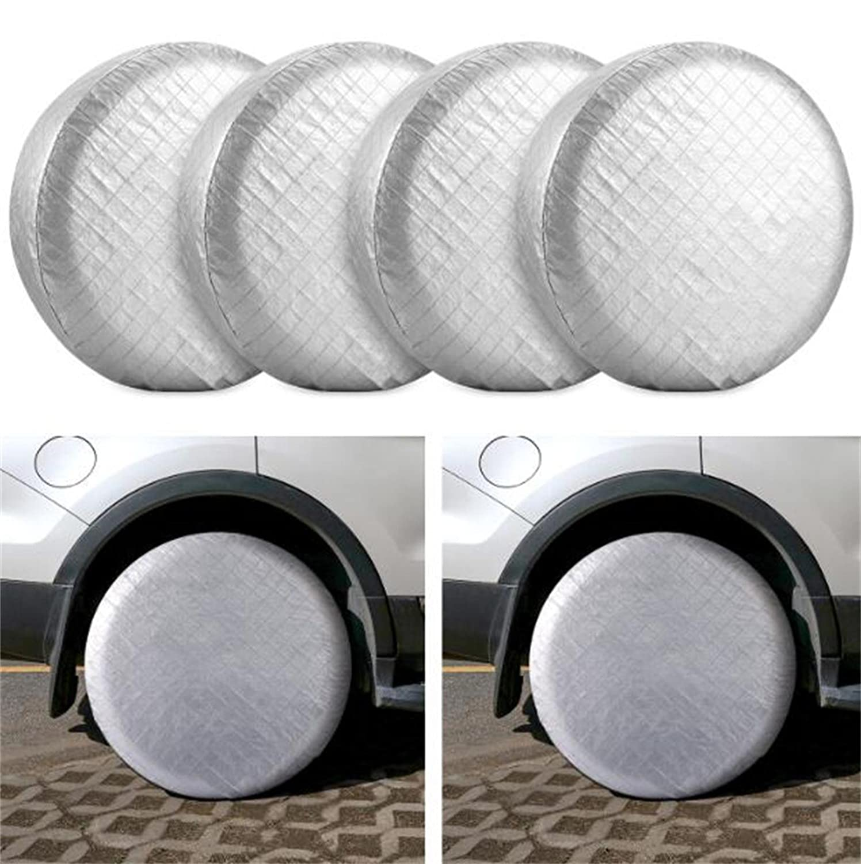 1//2//4 Reifentaschen langlebiger Oxford passend f/ür 13-19 Zoll Reifen. Reifenschutz Aufbewahrungstasche Auto-Reifenabdeckung 65 cm