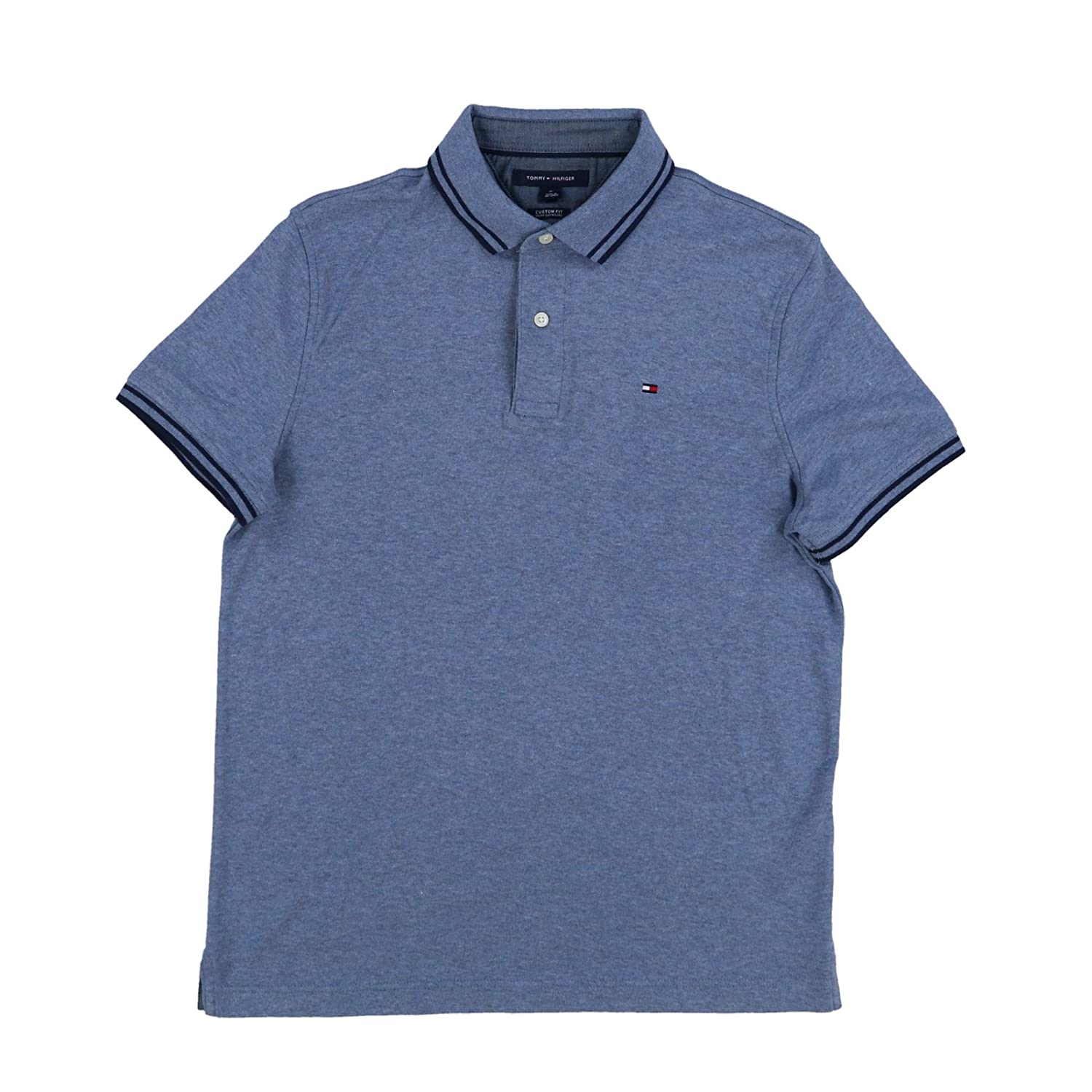 6b1a773c7 Online Cheap wholesale Tommy Hilfiger Mens Custom Fit Polo Shirt Suppliers