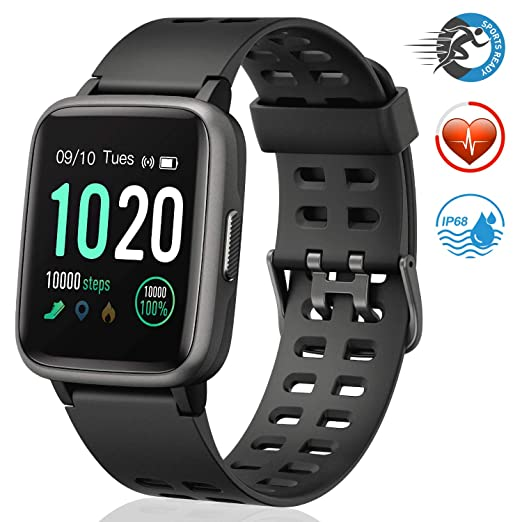 FITFORT Smartwatch, Fitness Watch Completo Touch Screen ...