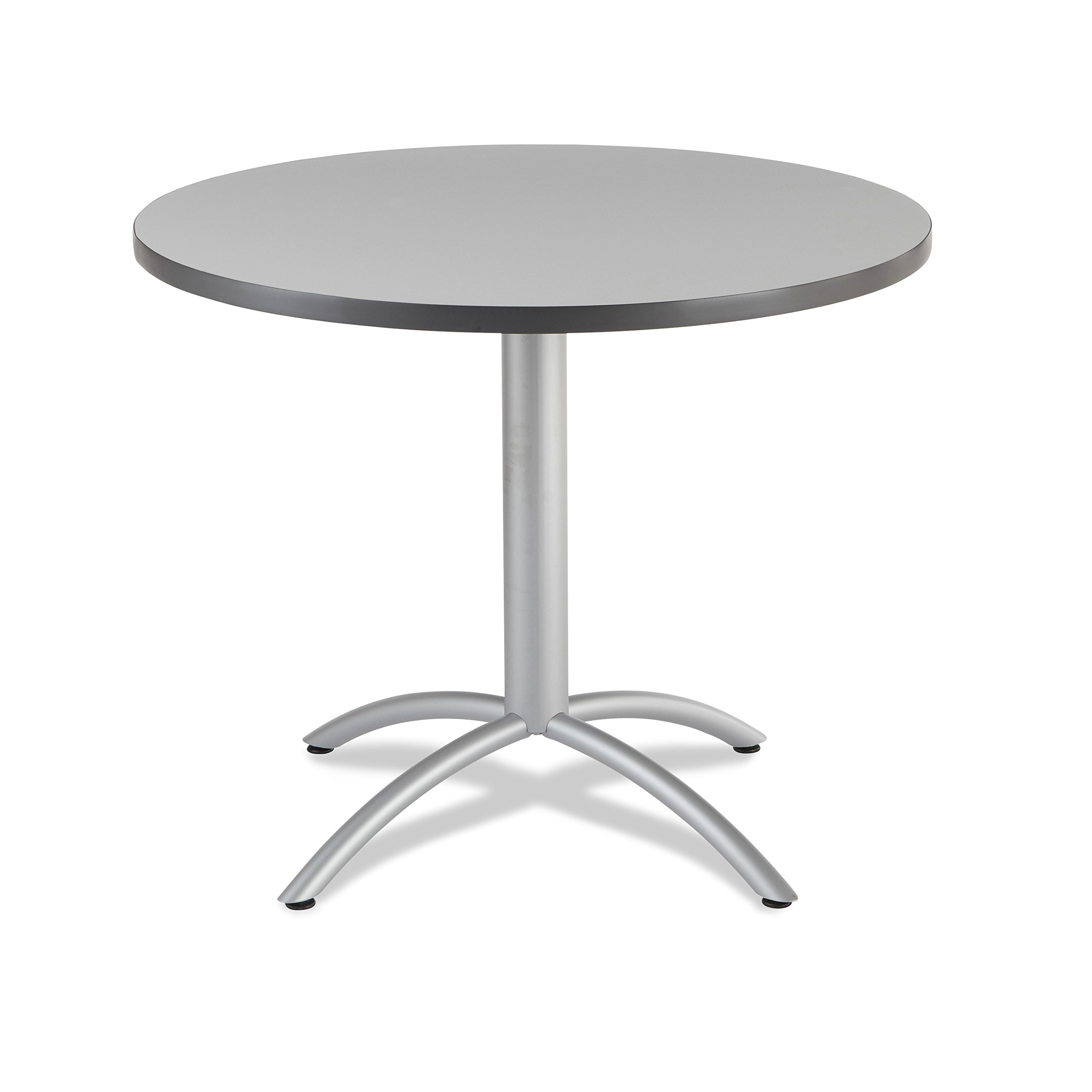 Iceberg 65647 CafeWorks Cafe/Meeting Table, 42'' Round, Gray