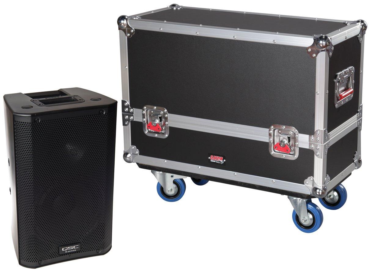 Gator Cases Tour Series Speaker Case for Two QSC K8 Speaker Cabinets G-TOUR SPKR-2K8