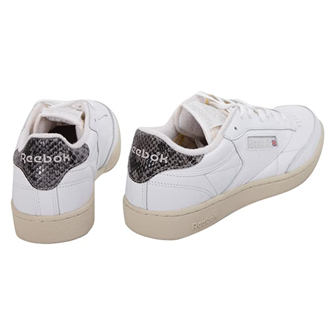 c33e1f5d386 Reebok Club C 85 Trainers White 7 UK  Amazon.co.uk  Shoes   Bags