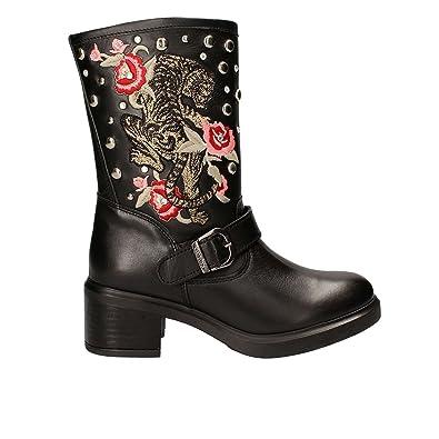 ZenaAmazon Guess ukShoesamp; With Tacks Boots Bags Black co srtCxdhQ