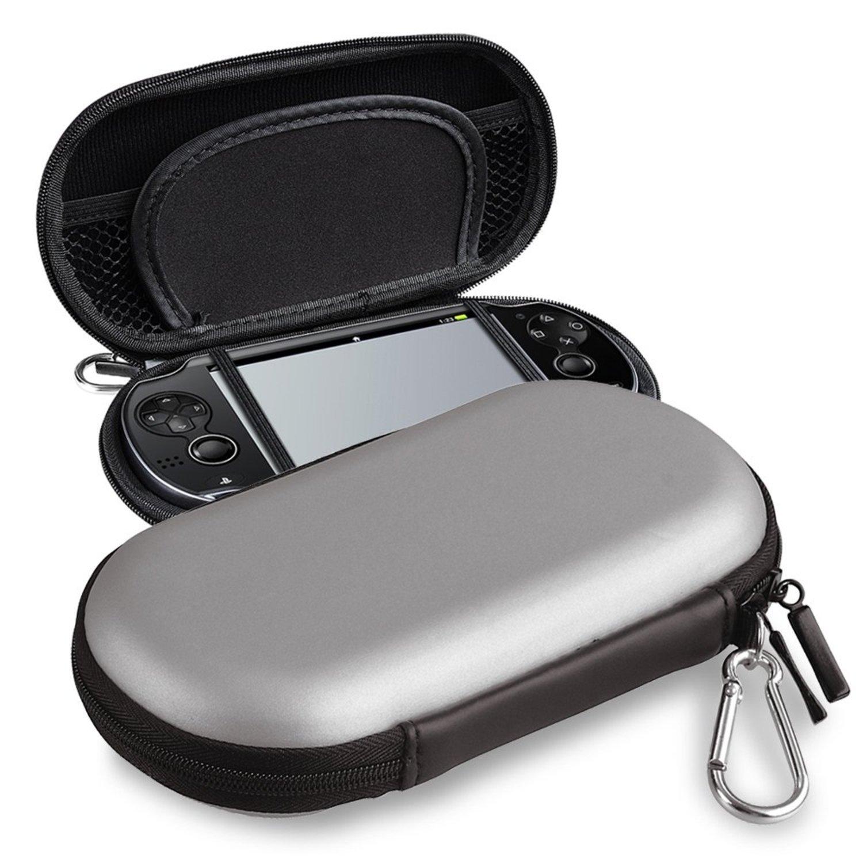 EVA Funda Carcasa Protectiva Para Sony PlayStation Vita, Plata