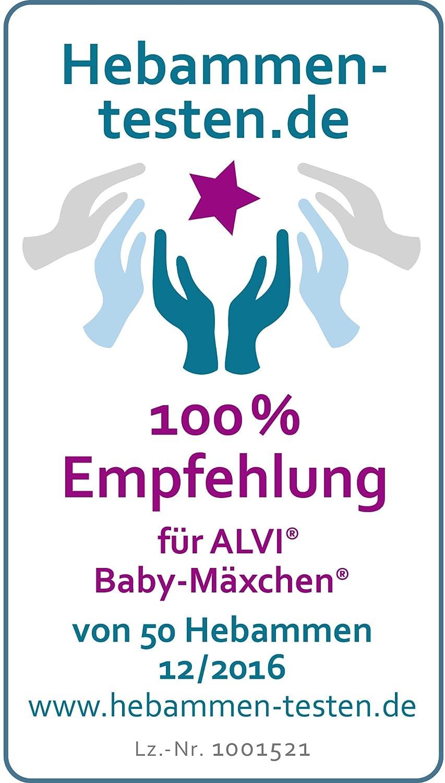 Set ALVI Baby M/äxchen Au/ßensack Schlafsack mit Stoffwindel von Kinderhaus Blaub/är//Ganzjahresschlafsack mitwachsend//Babyschlafsack