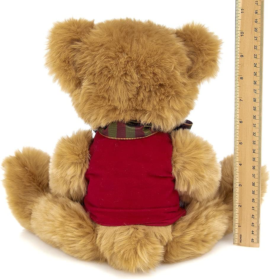 Bearington Collection Beary Merry Christmas Stuffed Animal Teddy Bear 15 inches