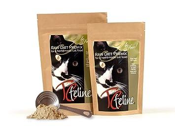 Amazon.com: tcfeline Raw Cat alimentos suplemento/premix ...