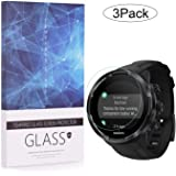 BECEMURU Suunto 9 Baro screen protector 9H Full Coverage screen protector glas voor Suunto 9 Baro Smartwatch (3 stuks)