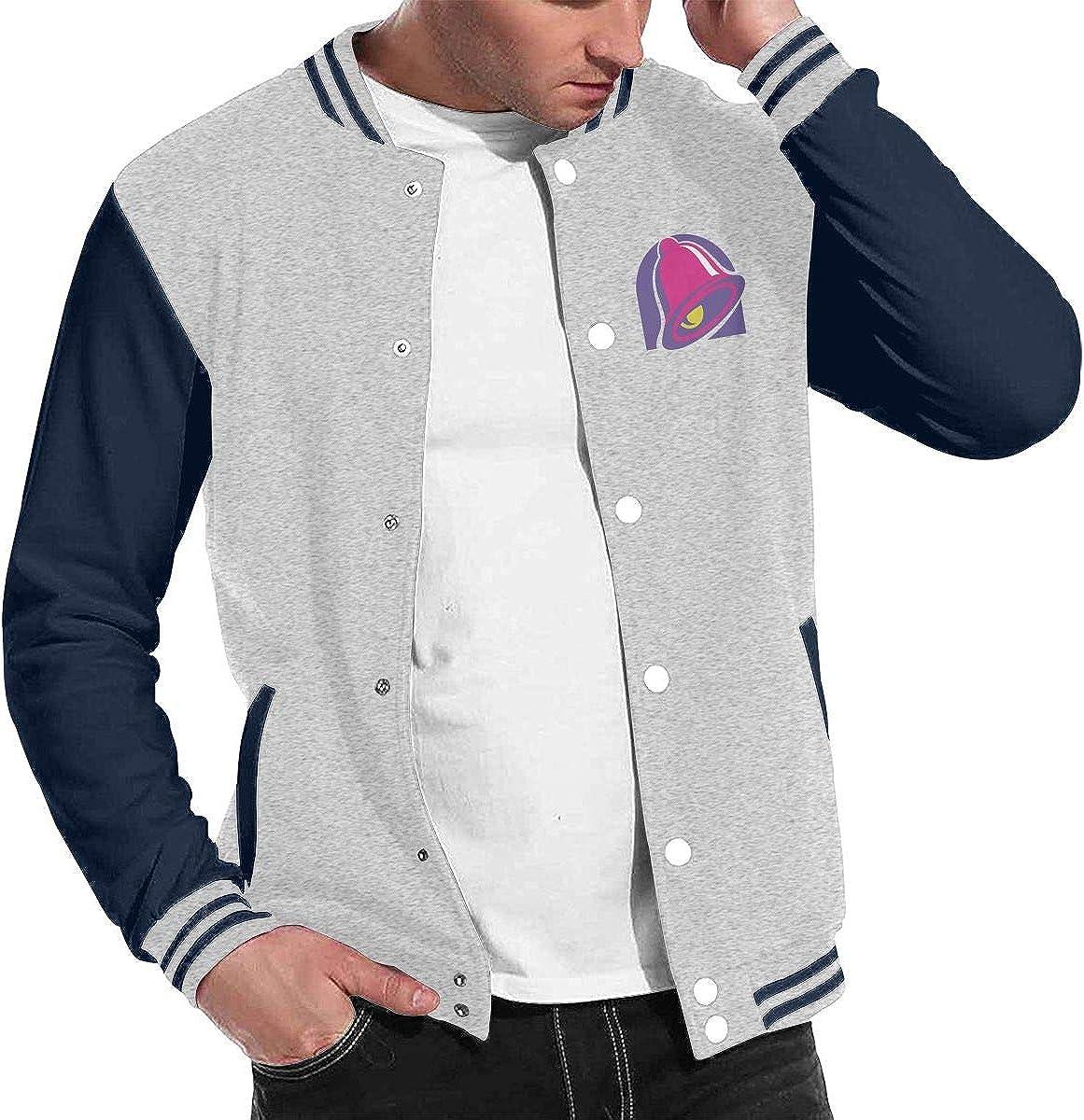 Taco Bell Mens Cool Baseball Uniform Jacket Sport Coat