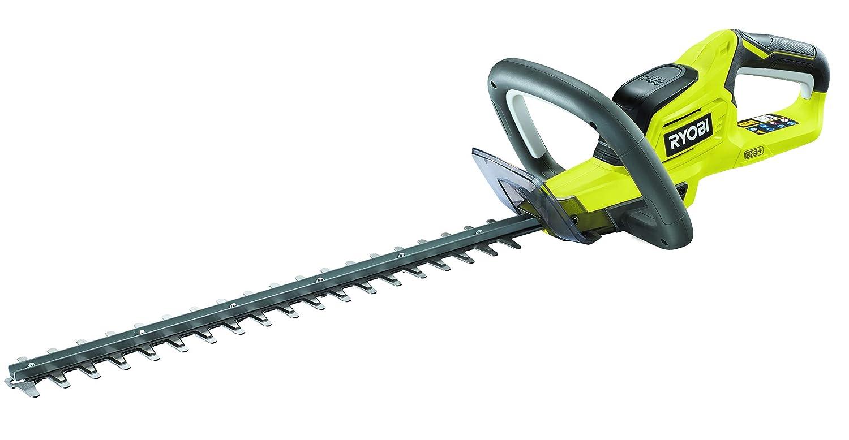Ryobi Heckenschere 18V, Messerlänge 45 cm/Schnittstärke 18 mm, mit Schutzhülle, ohne Akku und Ladegerät – OHT1845