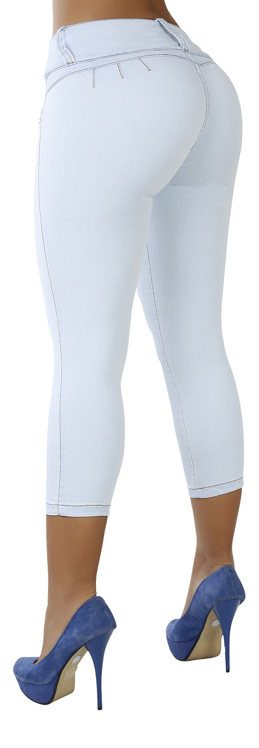 Curvify 764 Women's Butt-Lifting Skinny Jeans