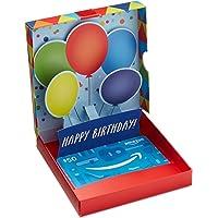 Amazon.ca Gift Card in Birthday Pop-Up Box