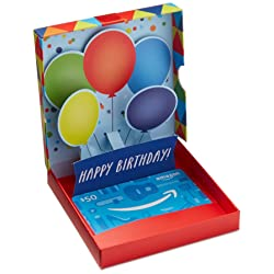 Amazon.ca Gift Card in Birthday Pop-Up Box  link image