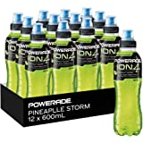 Powerade ION4 Pineapple Storm Sports Drink, 12 x 600 ml