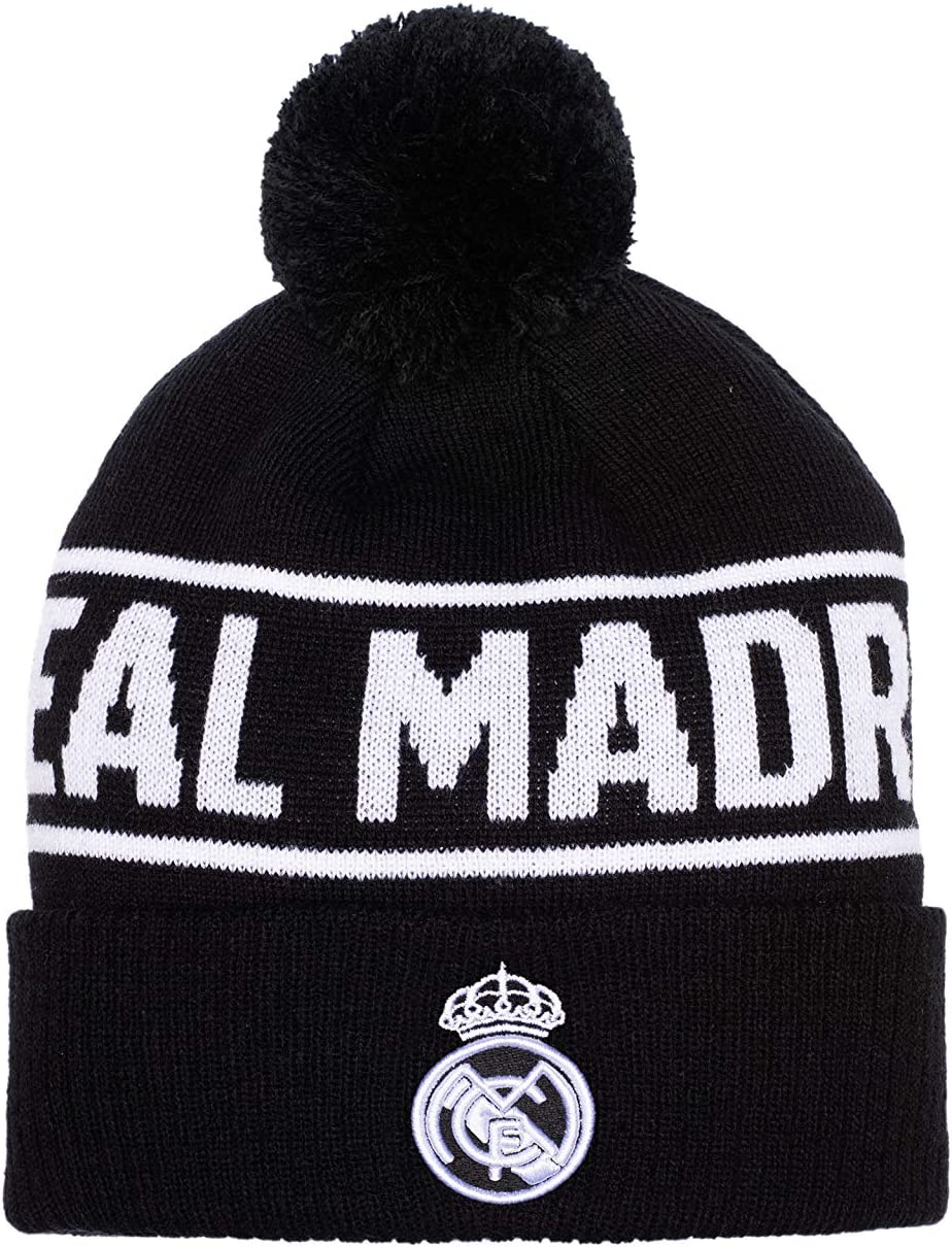 Real Madrid Fi Collection Hit Knit Hat//Beanie