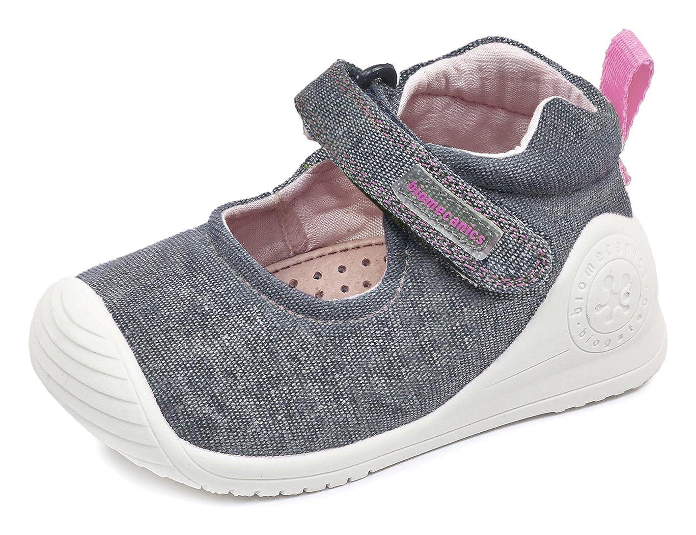 Biomecanics 172155, Zapatillas para Niñas Zapatillas para Bebés Azul (Navy Blue) 24 EU 172155-A