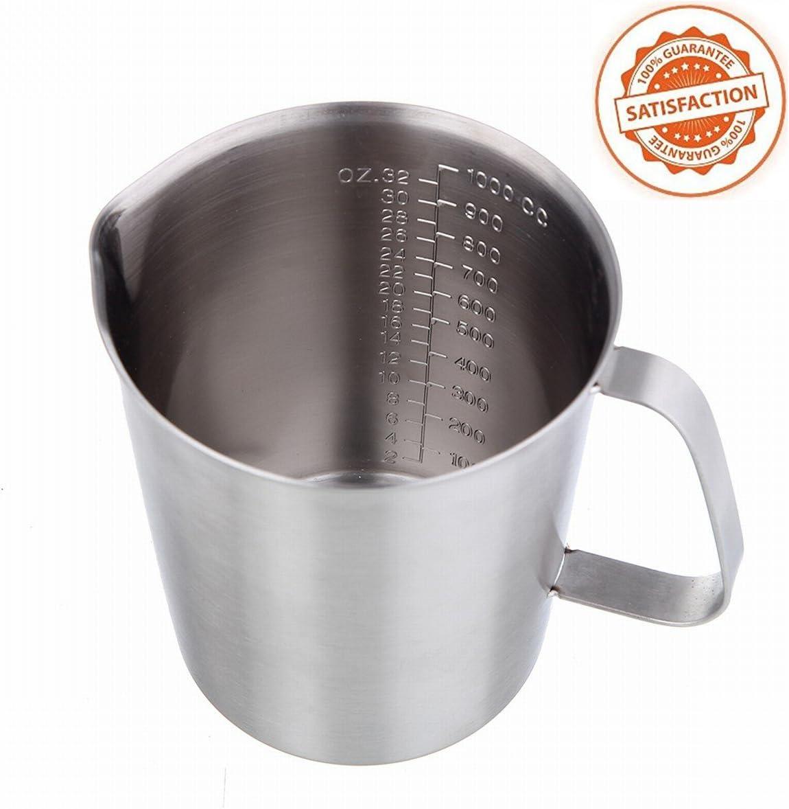Messbecher Küche Backen Werkzeuge Metall Einfache Lagerung Ersatz Teil Zubehör