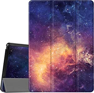 Fintie Case for Lenovo Tab E10 - Lightweight Slim Shell Stand Cover for Lenovo TAB E10 TB-X104F 10.1-Inch Android Tablet 2018 Release, Galaxy