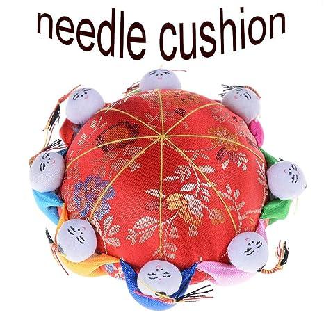 SUSHAFEN - Cojín de aguja oriental con 8 niños, bordado de ...