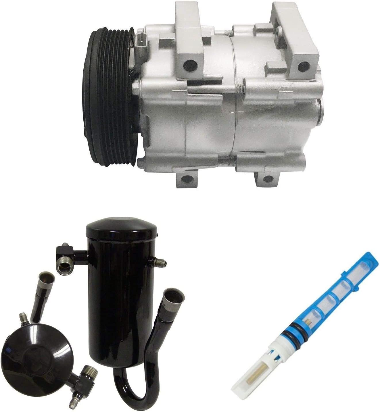 RYC Remanufactured AC Compressor Kit KT AB76
