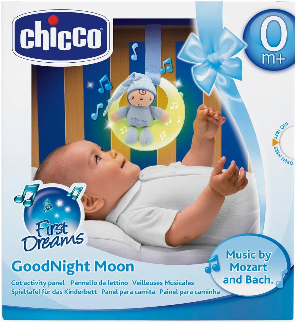 Chicco Goodnight Moon Soft Musical Nightlight Blue