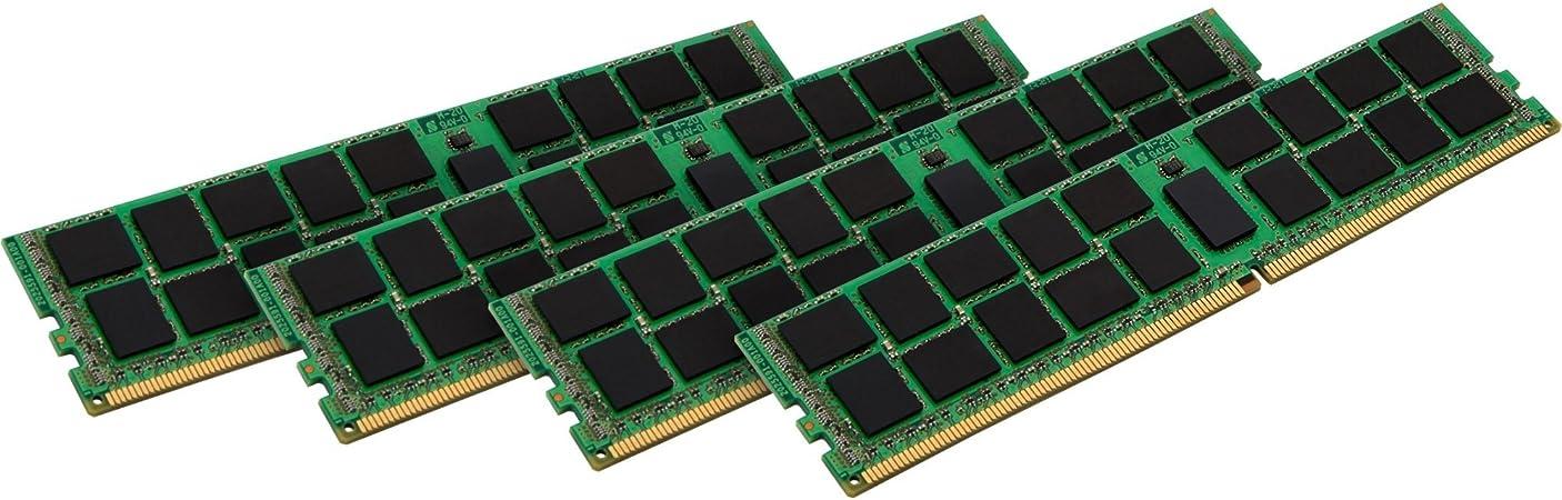 Kingston 64gb 4x 16gb Ddr4 2133 Mhz 64gb 4x 16gb Ddr4 Sdram 2133 Mhz Ddr4 2133 Pc4 K4 17000 1 2 V Ecc Registered With 288 Pin Dim Kvr21r15d4 64 Bürobedarf Schreibwaren