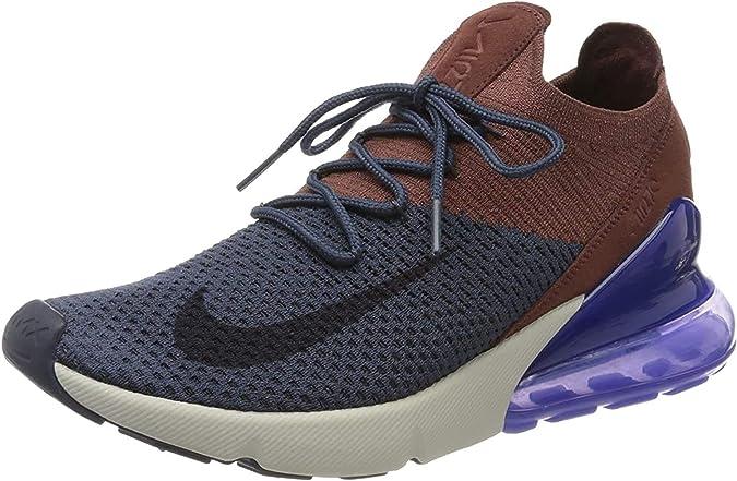 Nike Air MAX 270 Flyknit, Zapatillas de Deporte para Hombre, Multicolor (Chile Red/Black/Challenge Red/White 601), 44 EU: Amazon.es: Zapatos y complementos