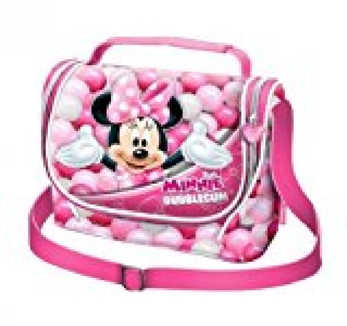 Karactermania Minnie Mouse Bubblegum Bolsos Escolares, 24 cm, Rosa 36222