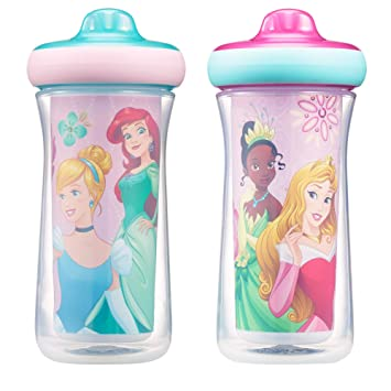 46e5ca14dd Disney Princess Insulated Hard Spout Sippy Cups 9 Oz, 2pk | Scan with Free  Share