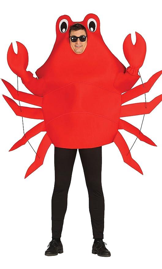 Rouge Taille Jouets Crabe Unique Déguisement Adulte Jeux et pqPfw5tw