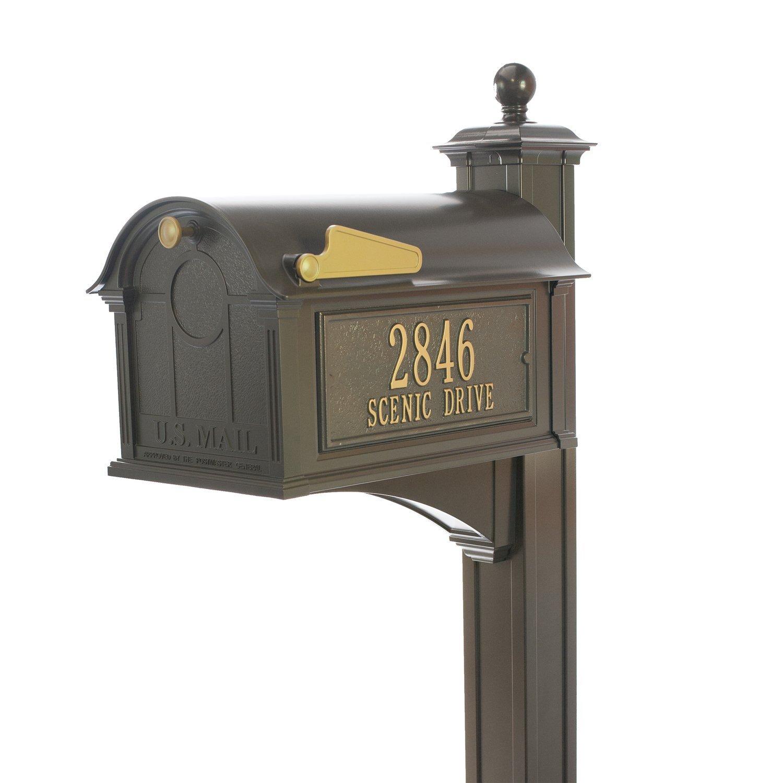 Balmoral Mailbox - Bronze (Mailbox Package, Bronze) by Whitehall