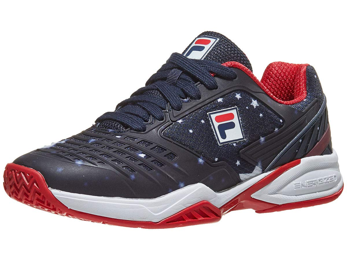 c6d2075239e4a Fila Axilus Energized Limited Edition Pro 1 Womens Tennis Shoe (9)  White/Navy/Red