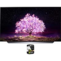 LG OLED65C1PUB 65 Inch 4K Smart OLED TV with AI ThinQ 2021 Model Bundle with Premium 2 Year Extended Protection Plan
