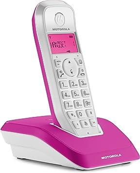 Motorola Startac S1201 - Teléfono inalámbrico DECT (manos libres, modo ECO, iluminación de pantalla ajustable al color del dispositivo) (importado): Amazon.es: Electrónica