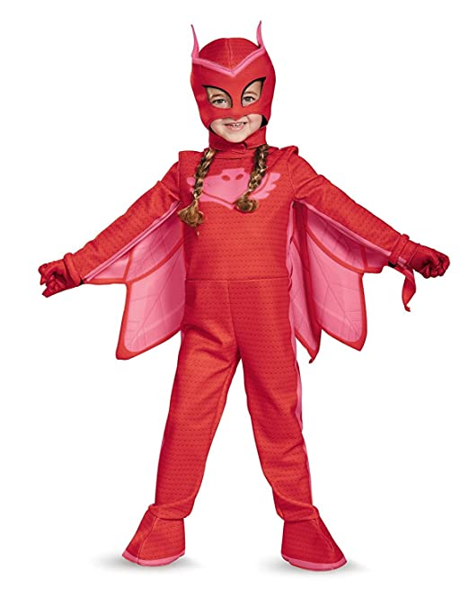 Frog Studio Home Disguise Owlette Deluxe Toddler PJ Masks Costume ...