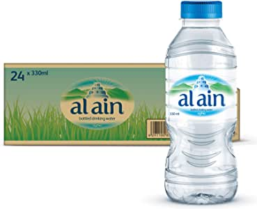 Al Ain Bottled Drinking Water - 330 ml (Pack of 24)
