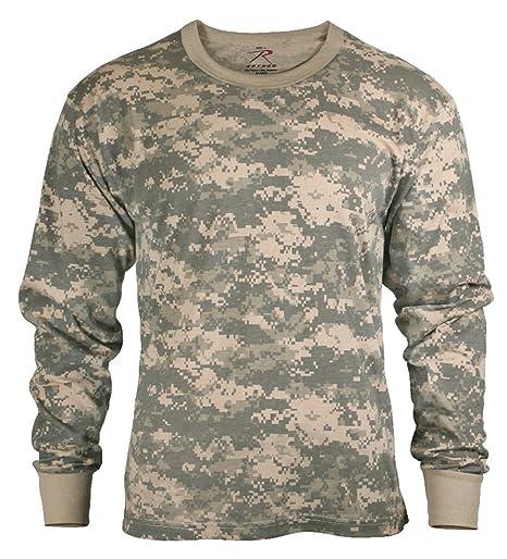 Amazon.com  Rothco Long Sleeve Digital Camo T-Shirt  Sports   Outdoors 7a34ed66c2