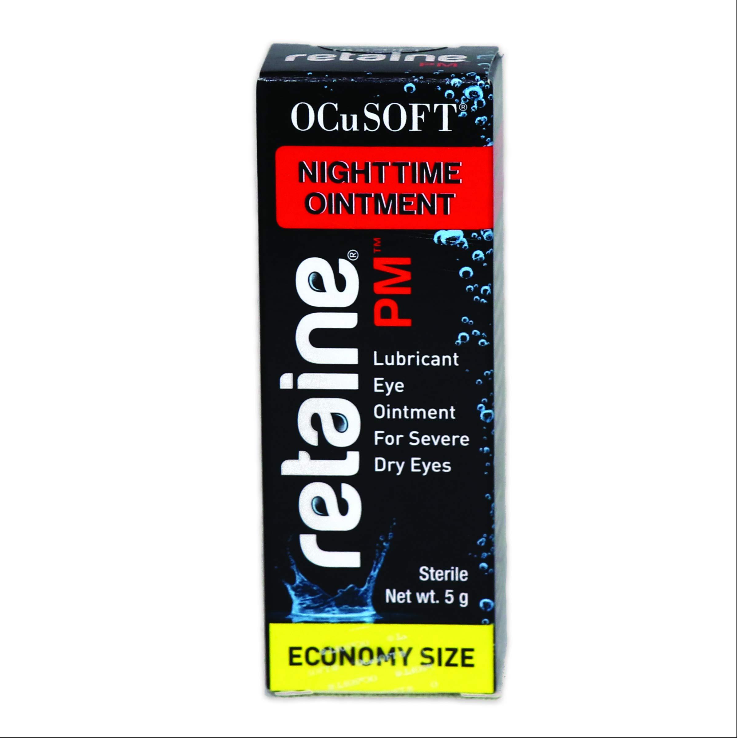 OCuSOFT Retaine Pm 5g Tube, Black Box W/Red Banner, 5gm