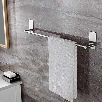 Charmant KES Bathroom Lavatory 3M Self Adhesive Single Towel Bar 15.7 Inch, Brushed  Stainless Steel