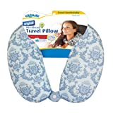 Cloudz Patterned Microbead Travel Neck Pillows