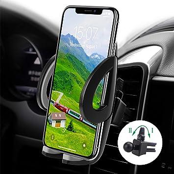 Avoalre Soporte Móvil Coche para Rejillas de Ventilación de Coche Universal Girable 360 Grado para Teléfonos